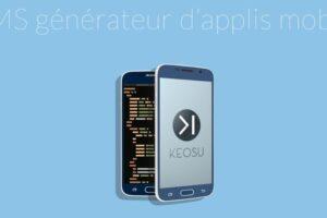 Keosu : le wordpress de l'appli mobile