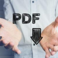 Que signifie PDF en informatique ?