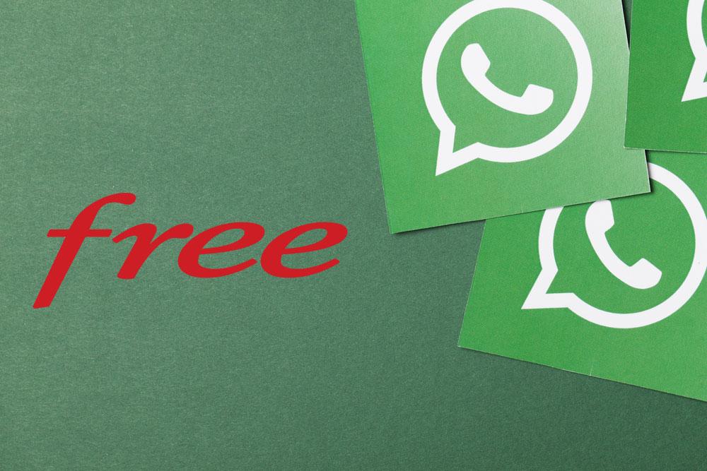 Le service clientèle de Free maintenant disponible sur WhatsApp